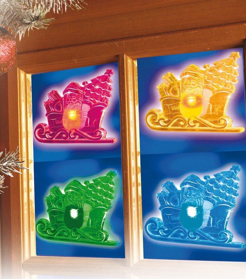 Papá Noel luminoso