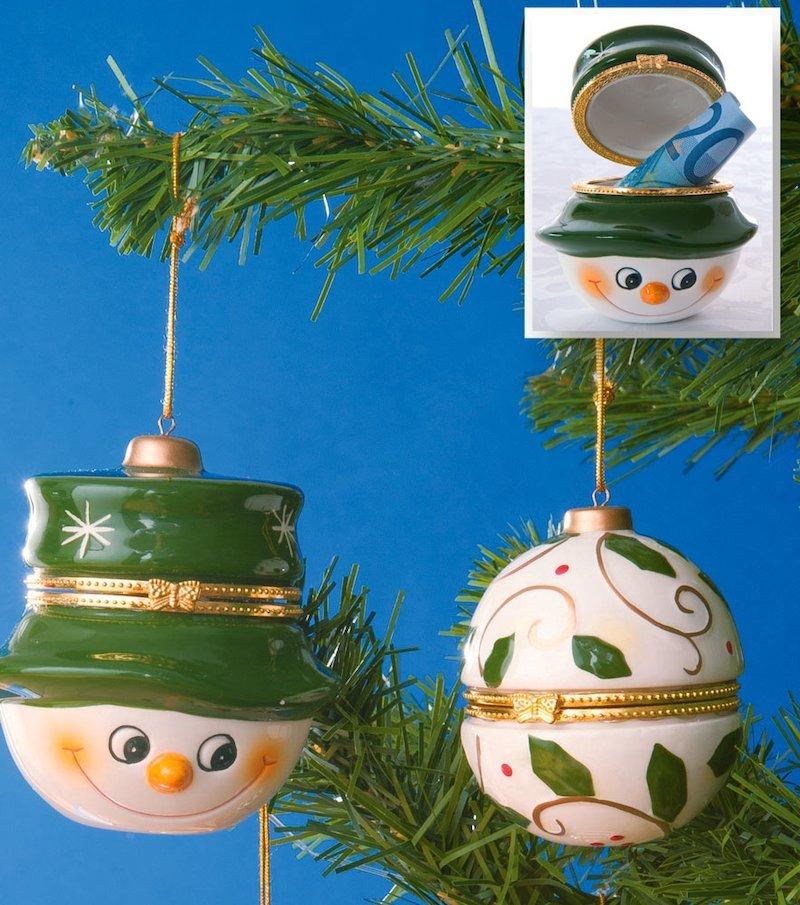 Caja regalo de cerámica ideal para colgar