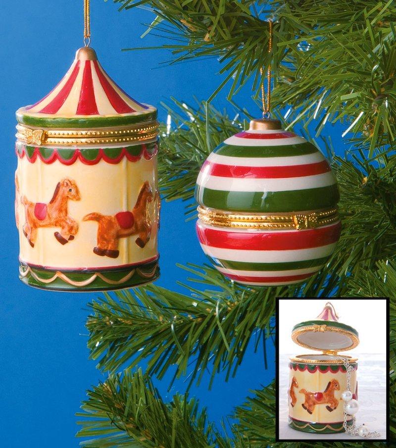 Caja regalo de cerámica para colgar