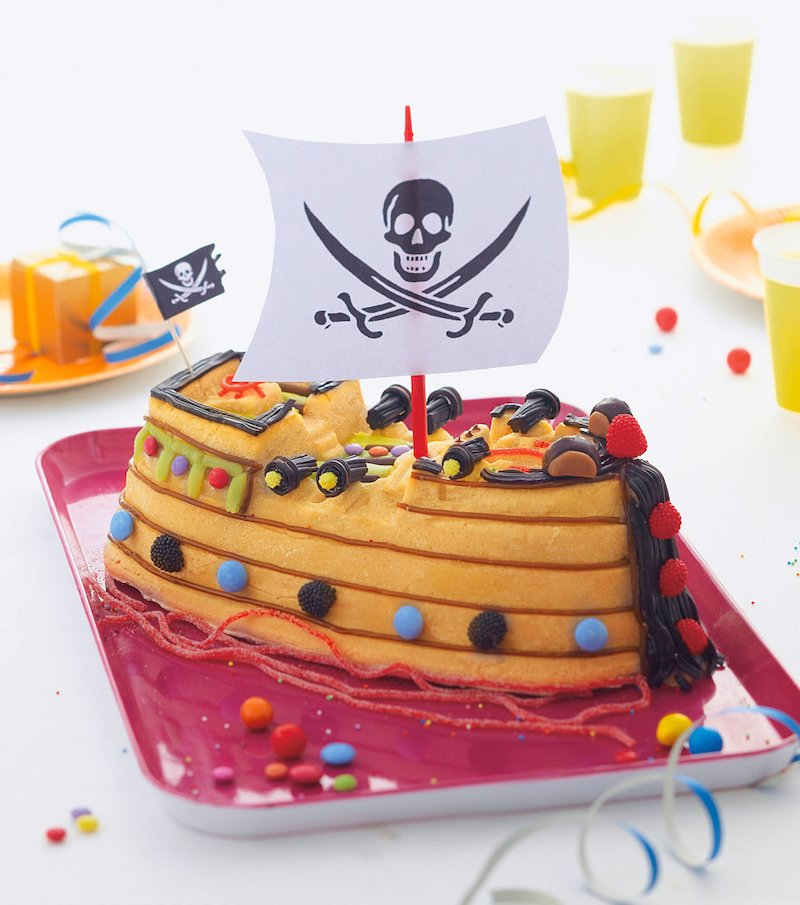 Molde silicona barco pirata