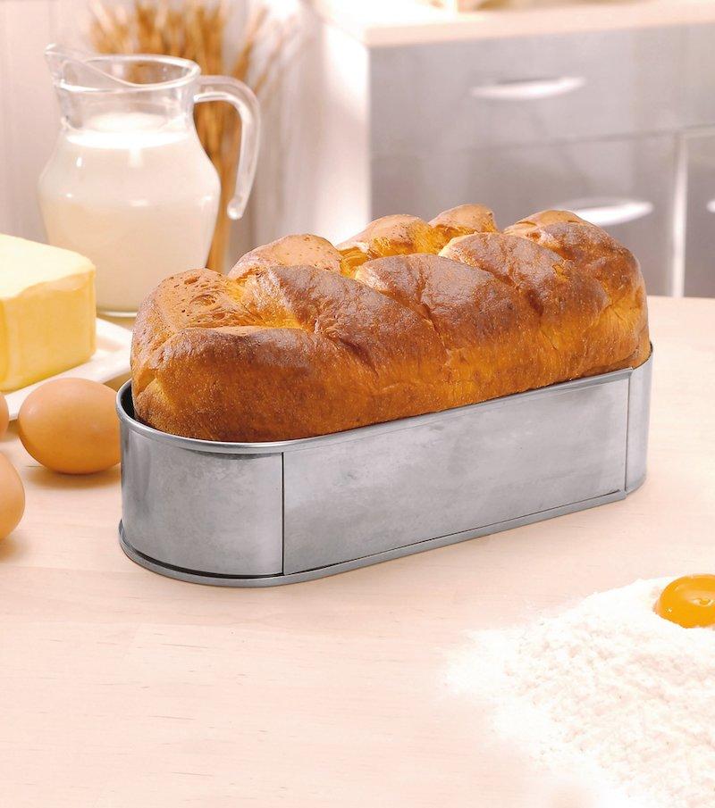 Molde de cocción para pan y brioches extensible