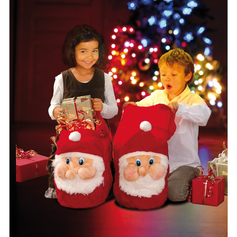 Fantástico saco de Papá Noel