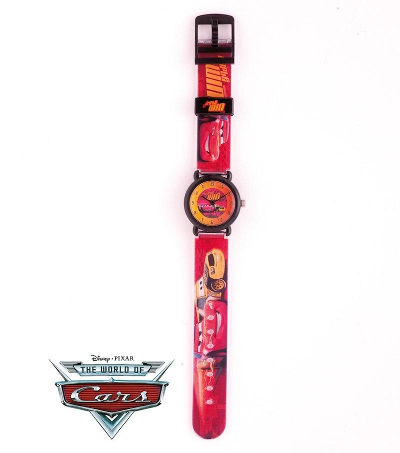 Reloj infantil analógico con personajes de Cars