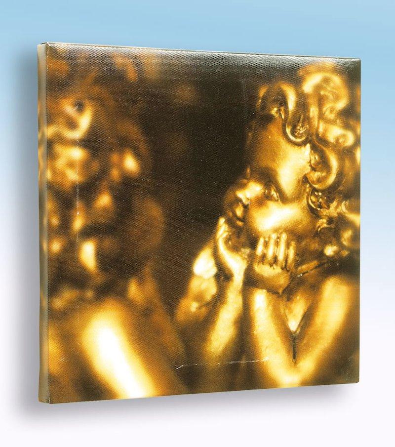Cuadro angelito dorado