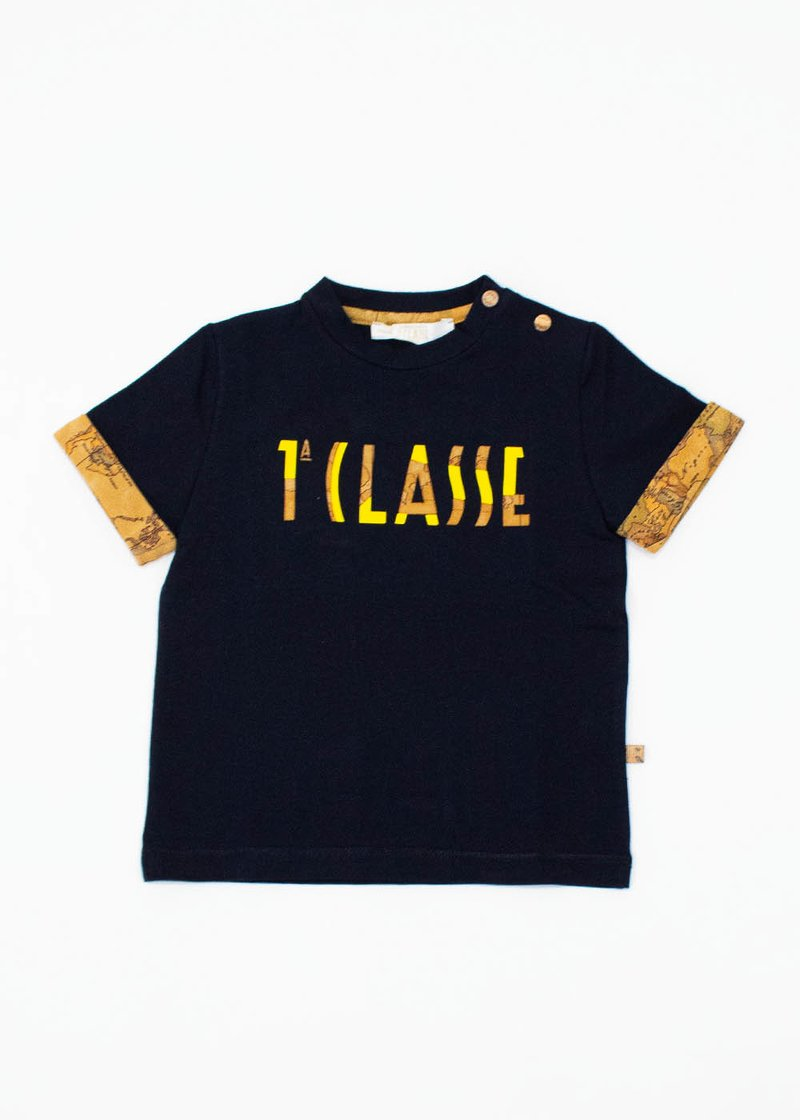 COTTON T-SHIRT WITH PRINTED LOGO
