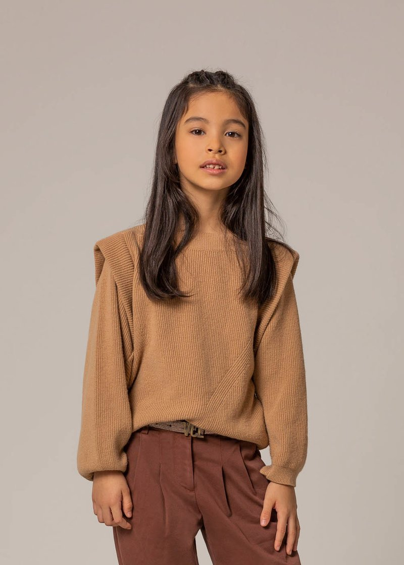 SWEATER WITH MAXI SLEEVES