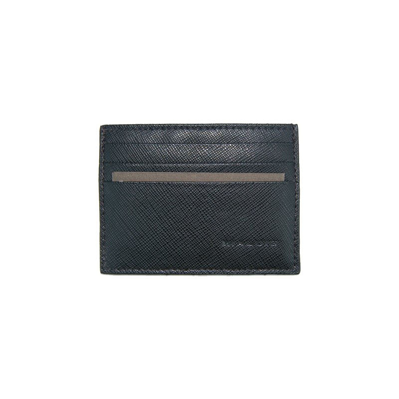 Porta carte di credito saffiano