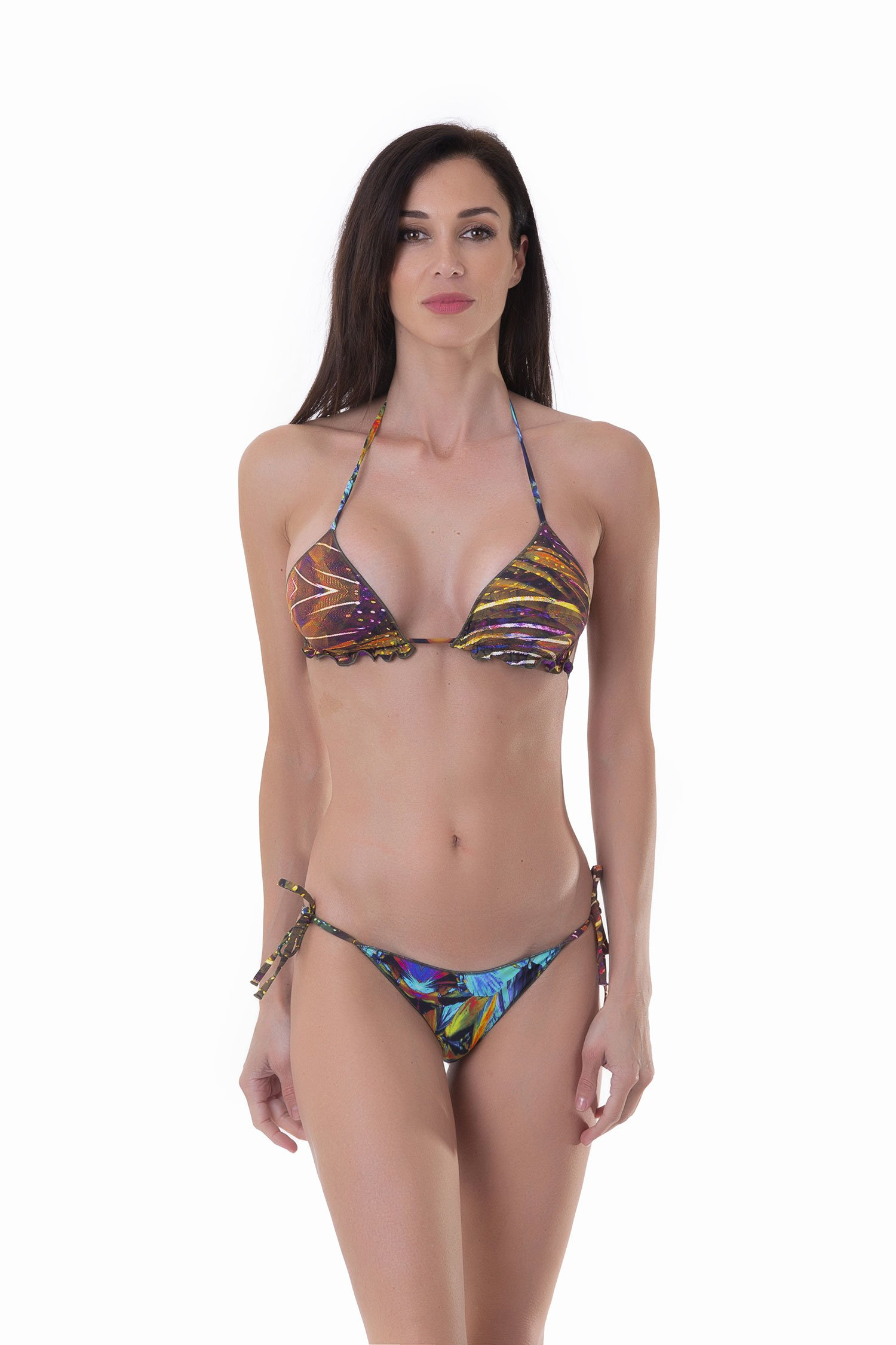 TRIANGLE BIKINI  MIX PRINTS - Plam+Kabl