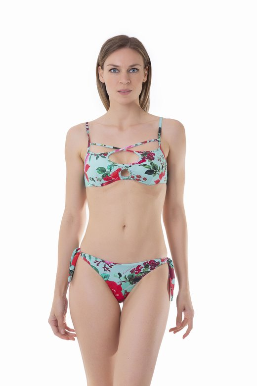 BIKINI PUSH-UP INCROCIO FANTASIA