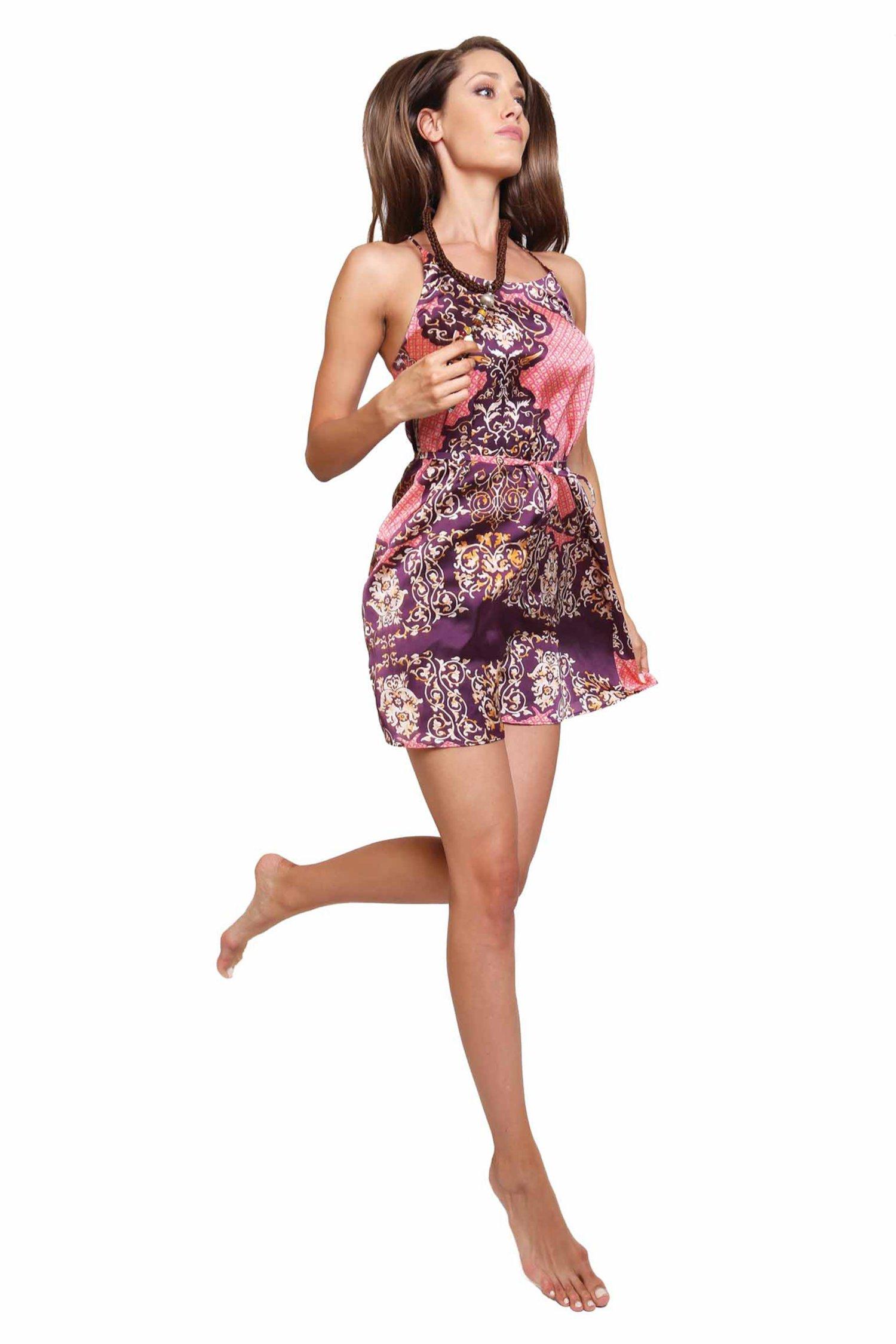 MINI DRESS TRAPEZIUM - India Rosa