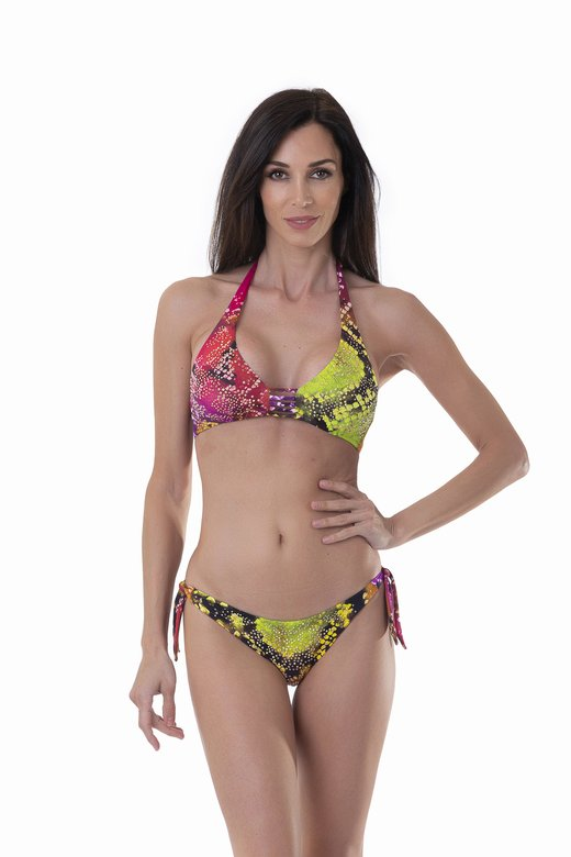 HALTER TRIANGLE SWIMSUIT