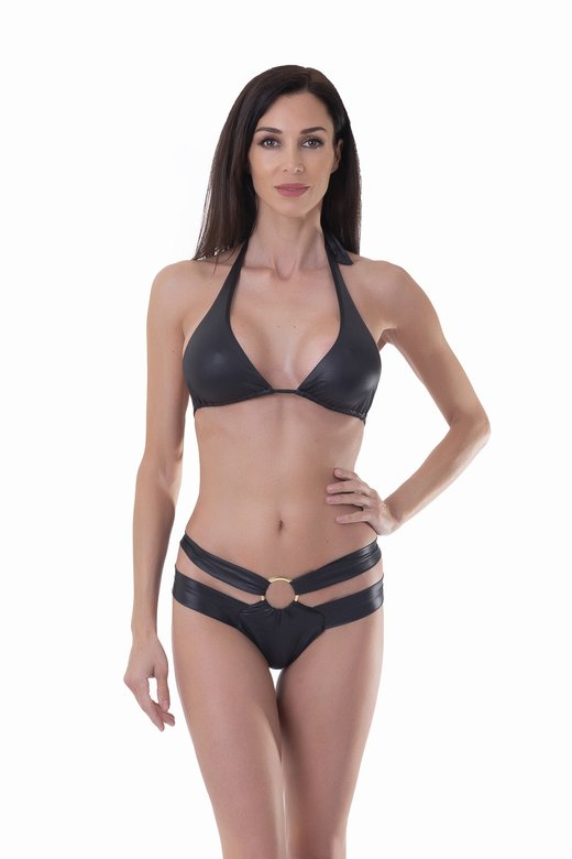 TRANSFORMER TRIANGLE BIKINI BOTTOM WITH RING