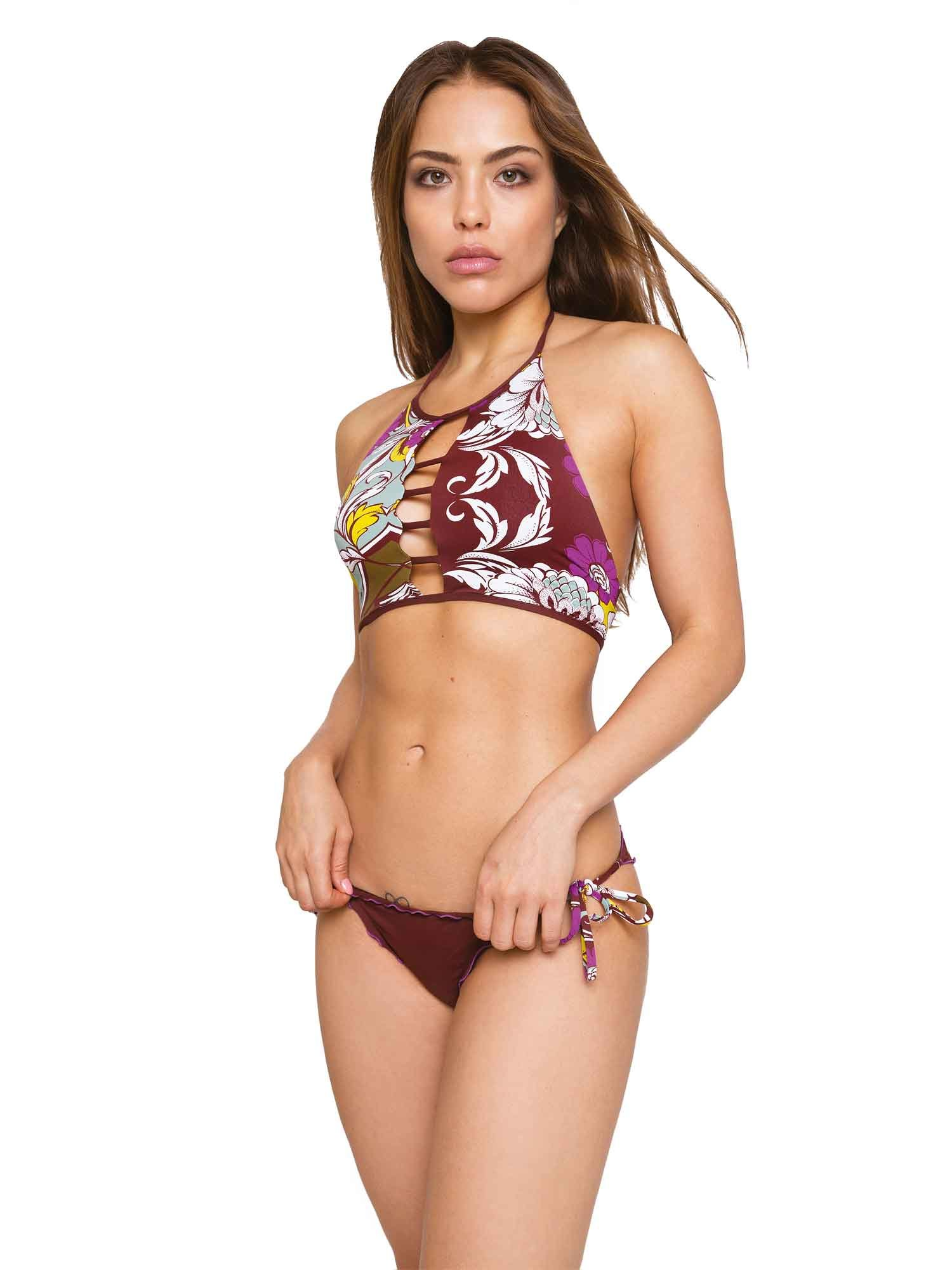 BIKINI TOP HANDKERCHES PRINTED AND PLAIN - Baar+Mima