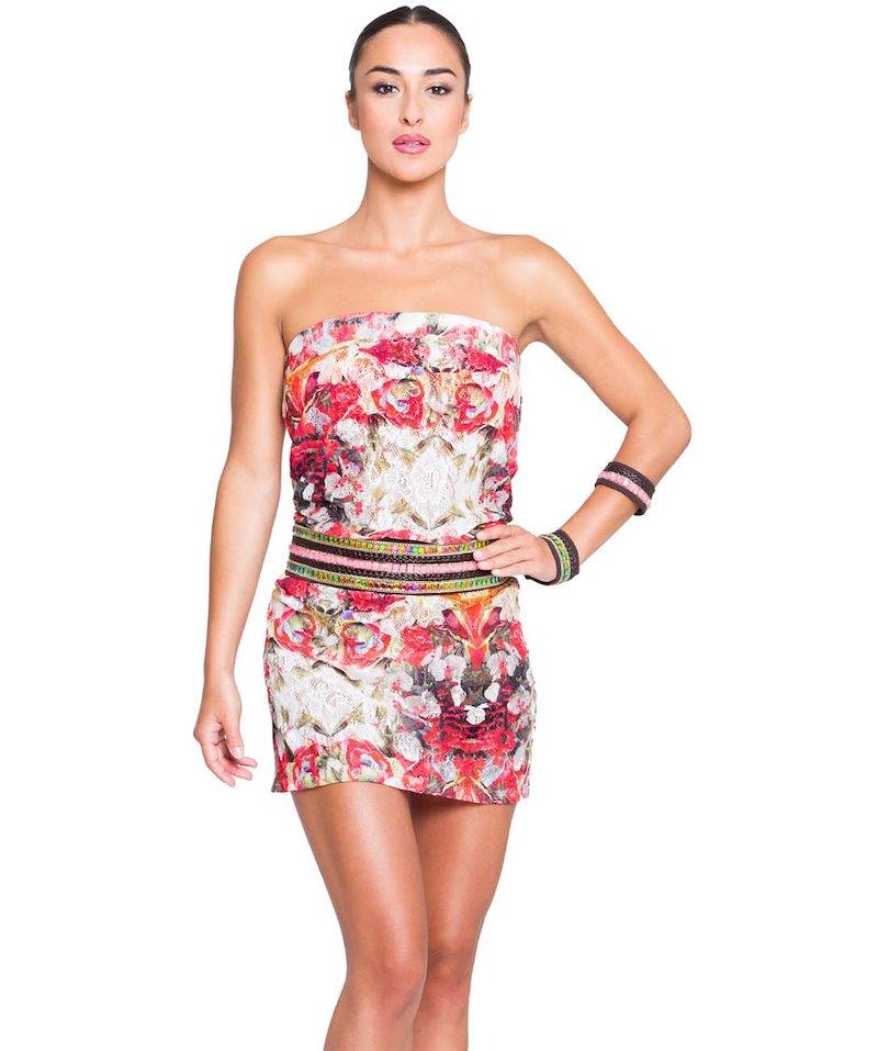 Short lace dress - Frida Bianco