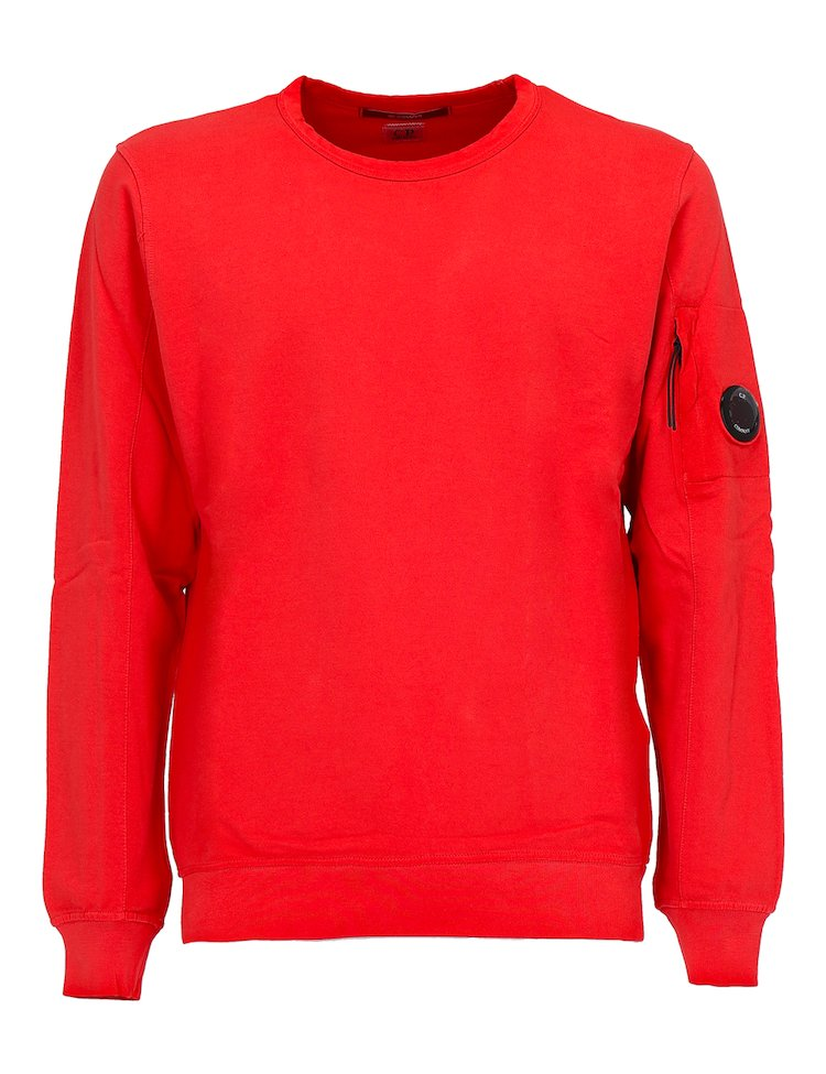 Red Crewneck Sweatshirt