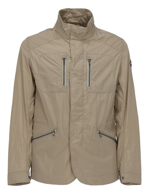 Beige Waterproof Jacket