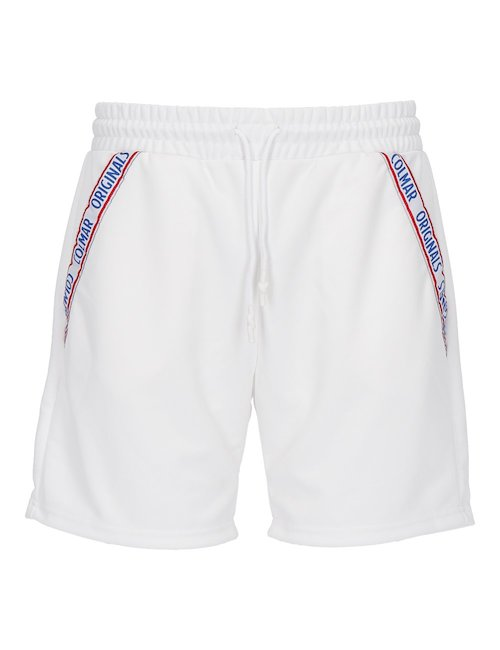 White Sweat Shorts