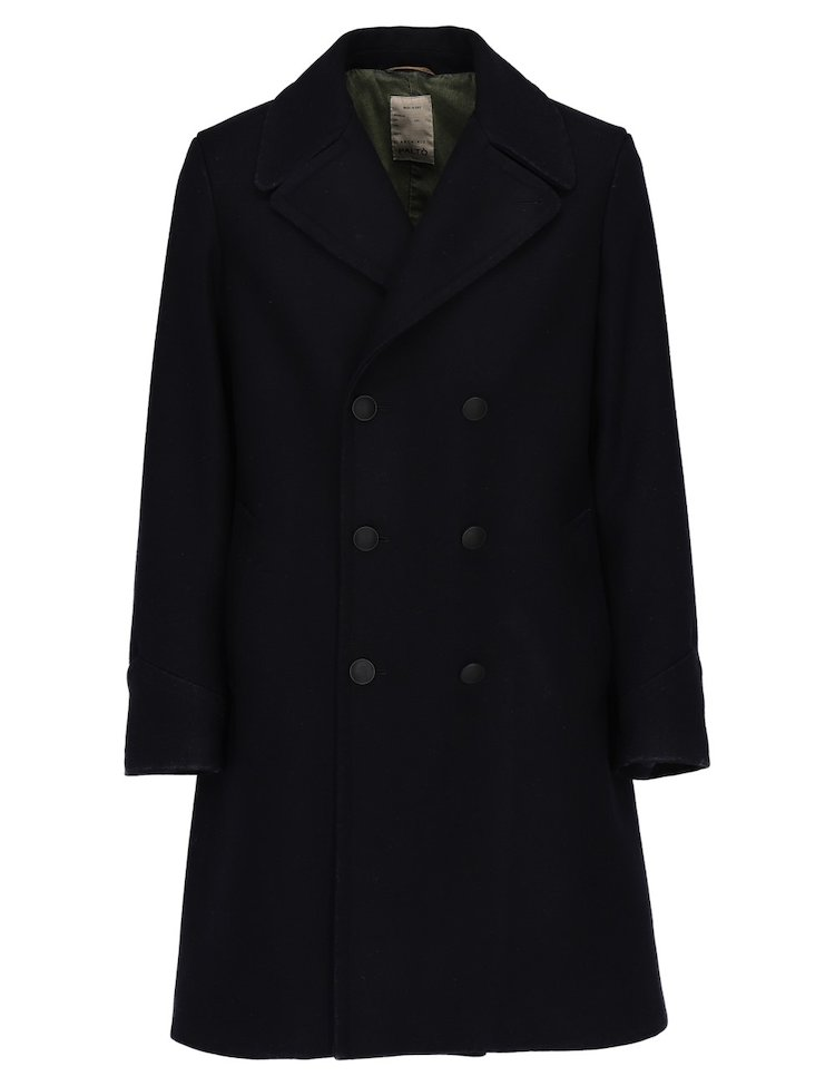 Double Breasted Achille Coat