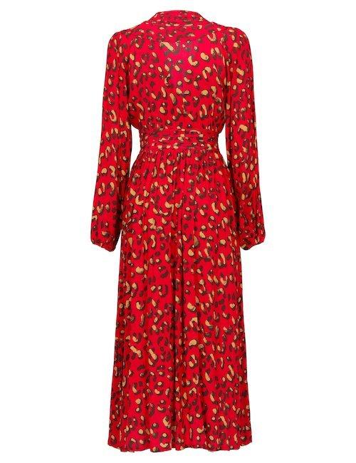 Agatha Red Dress