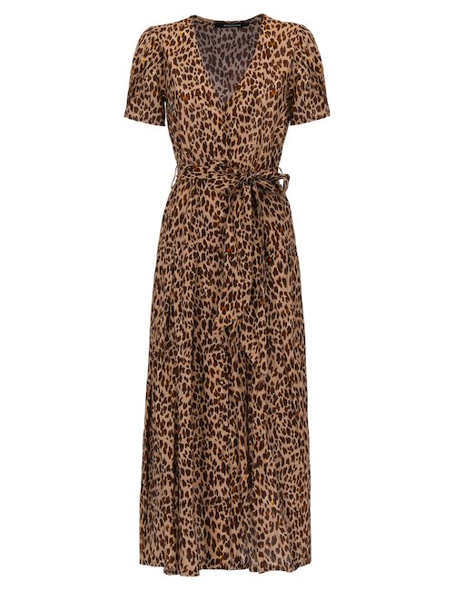 Alexandra Leopard Dress