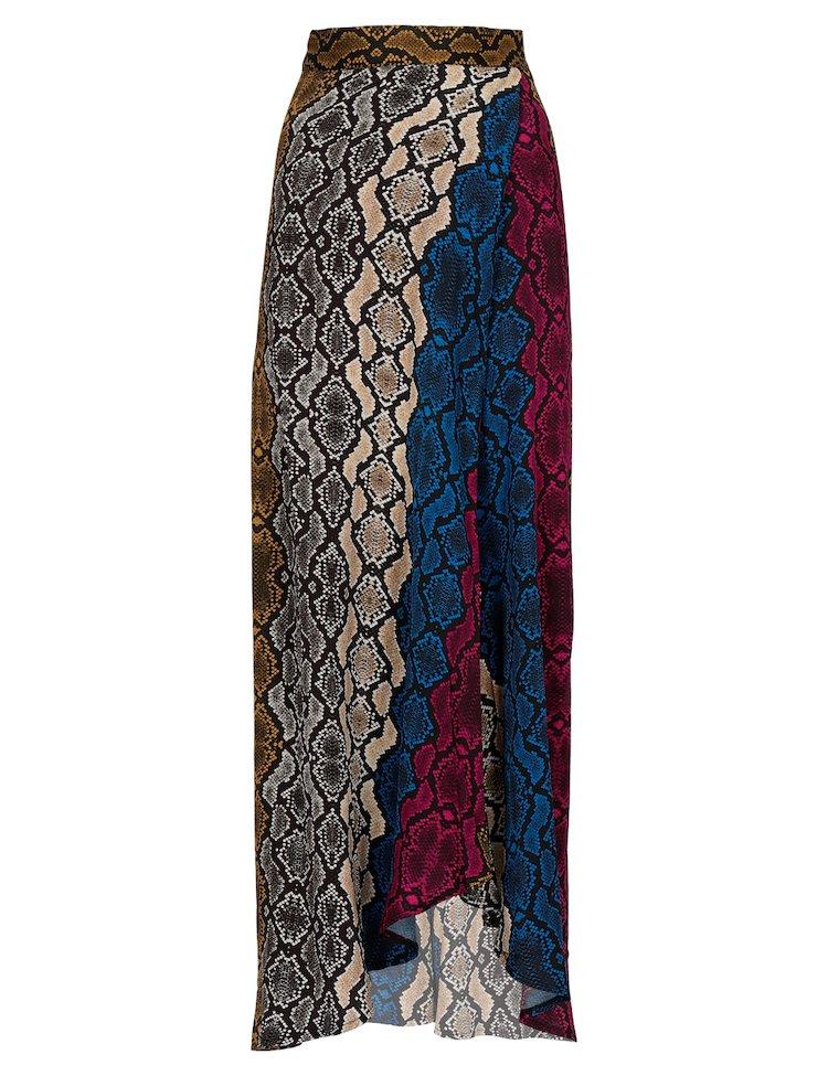Python Printed Skirt