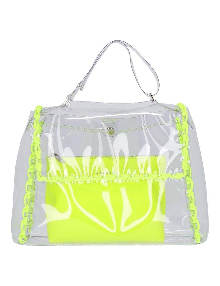 Trasparent Fluo Bag