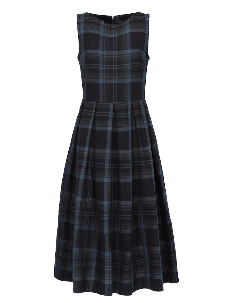 Bell Cotton Tartan Dress