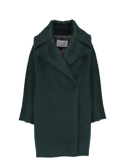 Mohair Blend Oversize Coat
