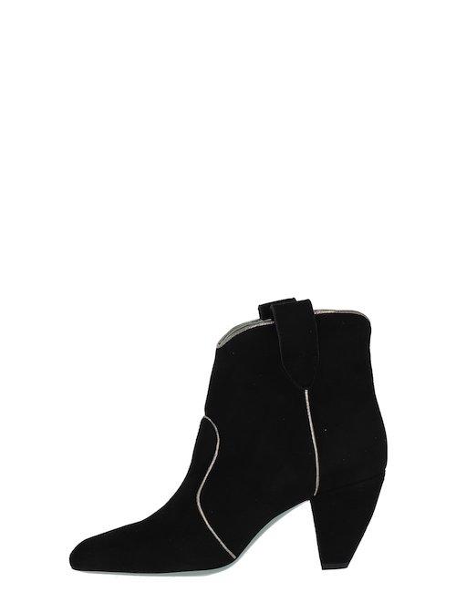 Stivali Con Tacco In Camoscio