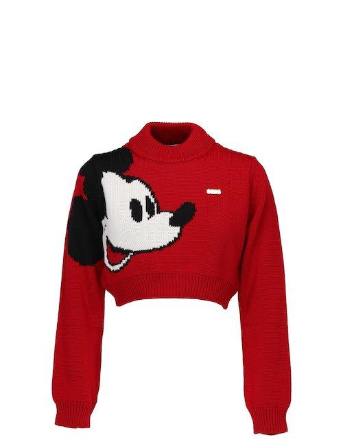 Mickey Crop Sweater