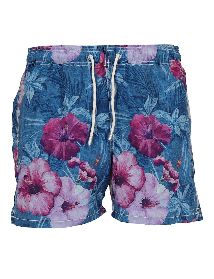 Multicolor Swim Shorts