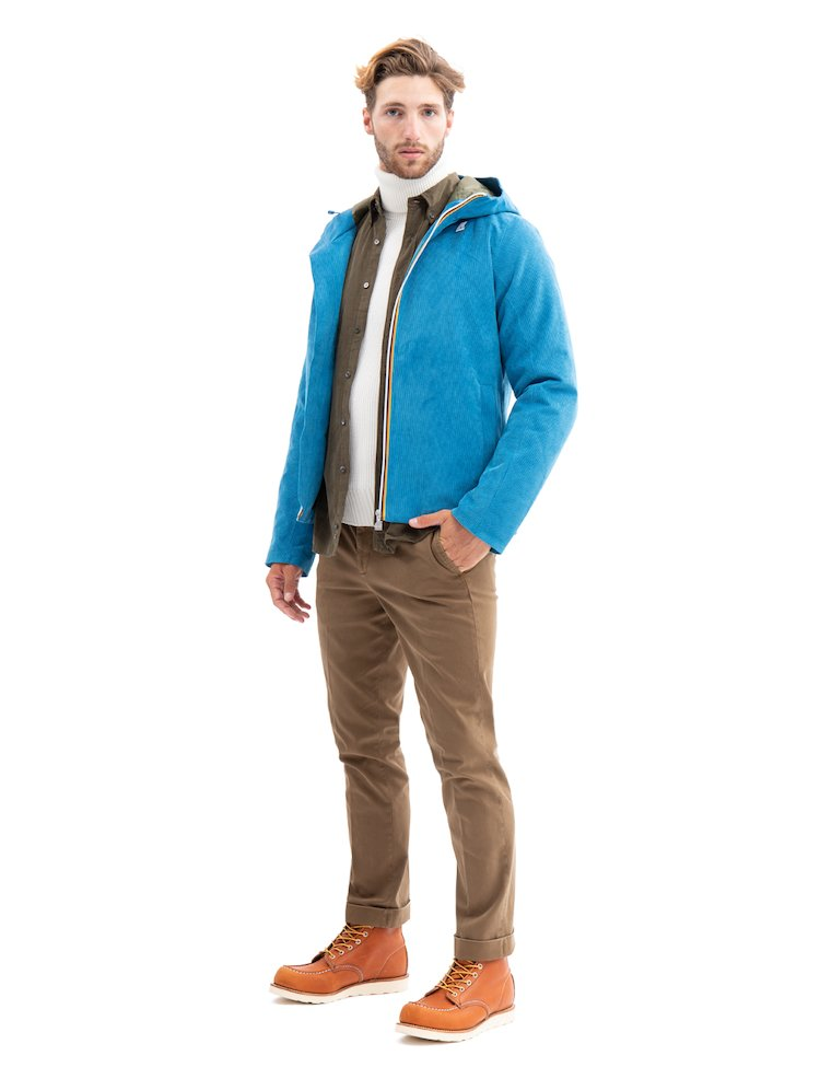 Jacques Corduroy Padded Jacket