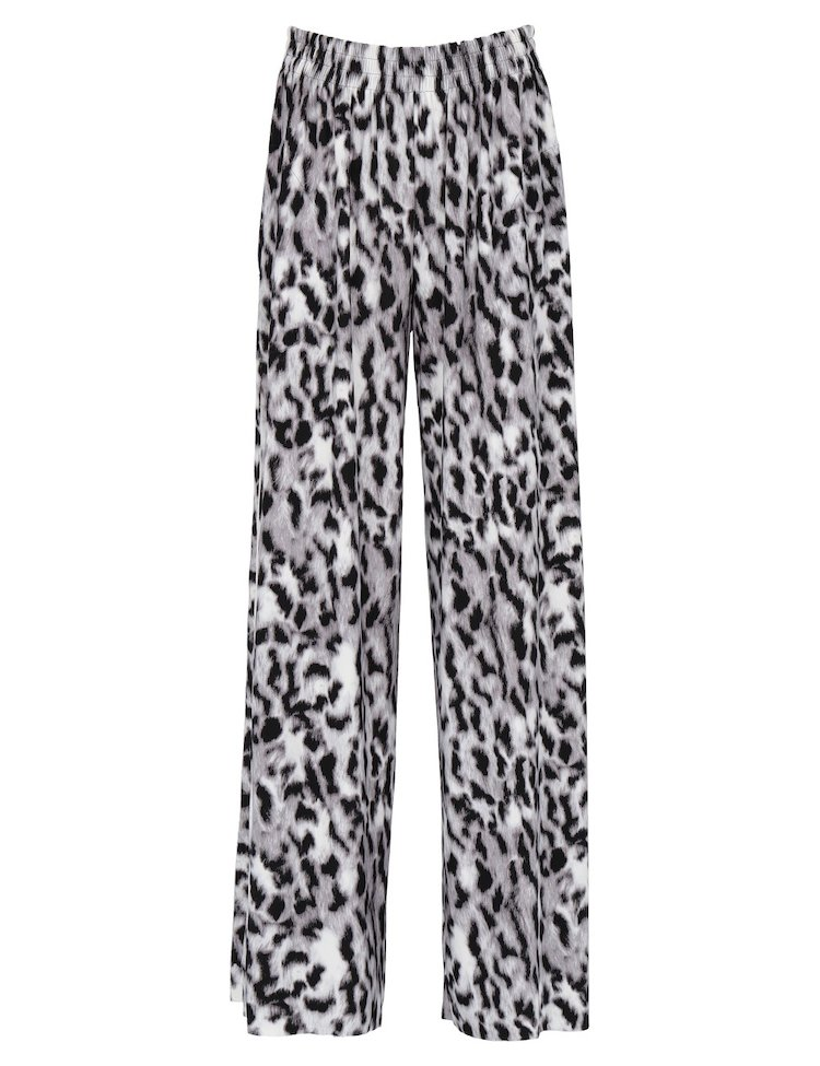 Leopard-Printed Pants