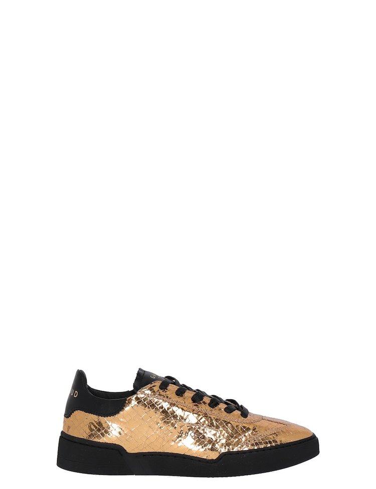 Sneakers Con Stampa Pitone