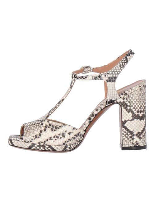 Python Printed Sandals