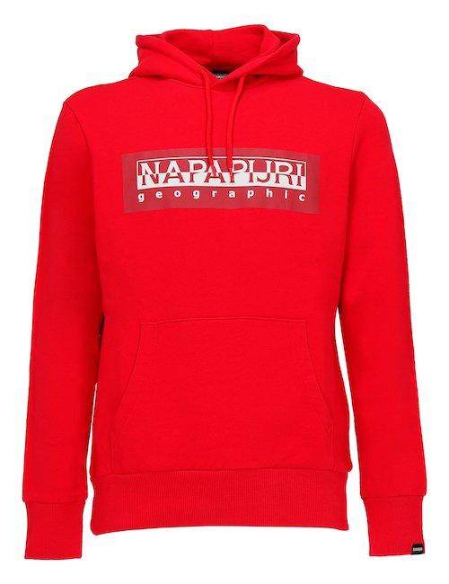Red Hooded Sweatshirt