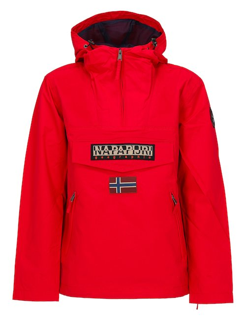 Red Rainforest Jacket