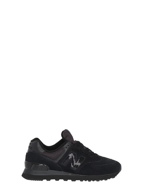574 Sneakers In Camoscio