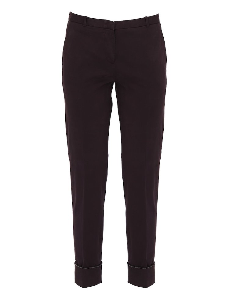 Pantaloni Montefalco In Cotone