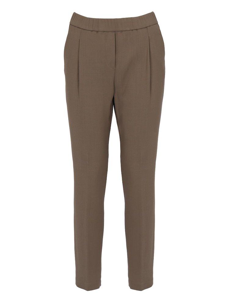 Merino Wool And Viscosa Pants