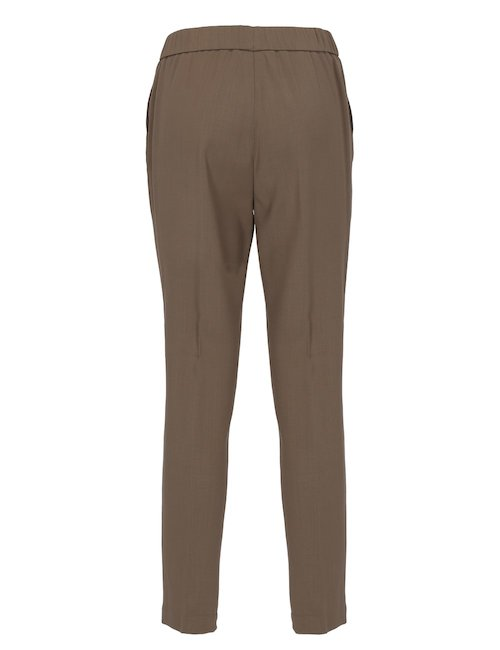 Merino Wool And Viscosa Pants
