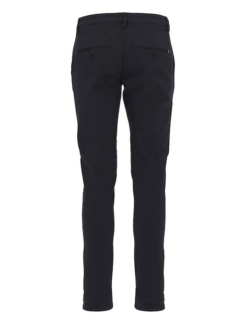 Pantaloni Slim Fit In Cotone