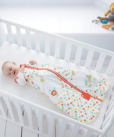 Grobag Party 6-18 Months Animals Sleep Bag 2.5 Tog