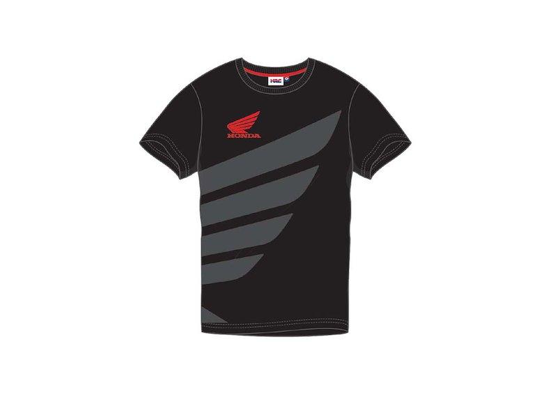 Camiseta Negra Honda HRC