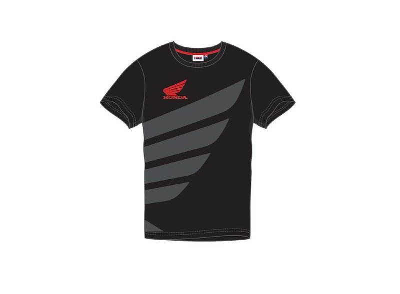 Black Honda Hrc T Shirt