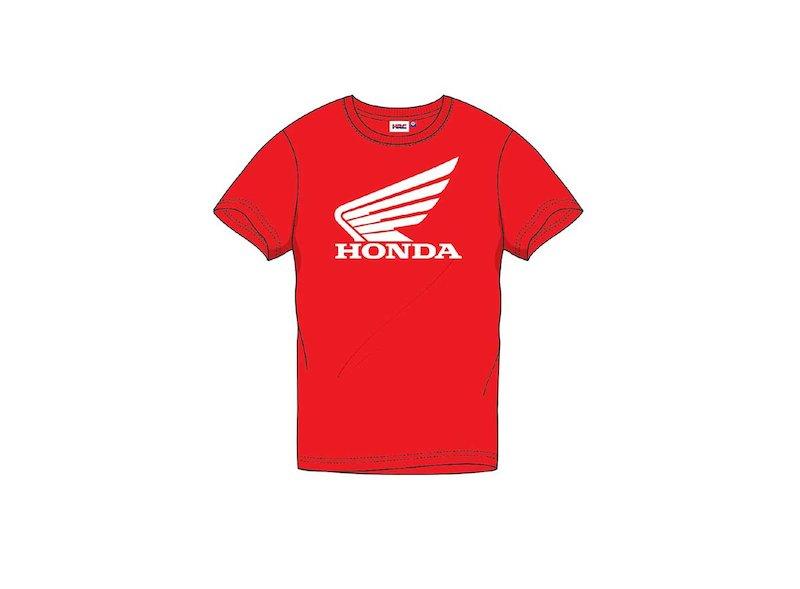 Camiseta Oficial Honda roja - White