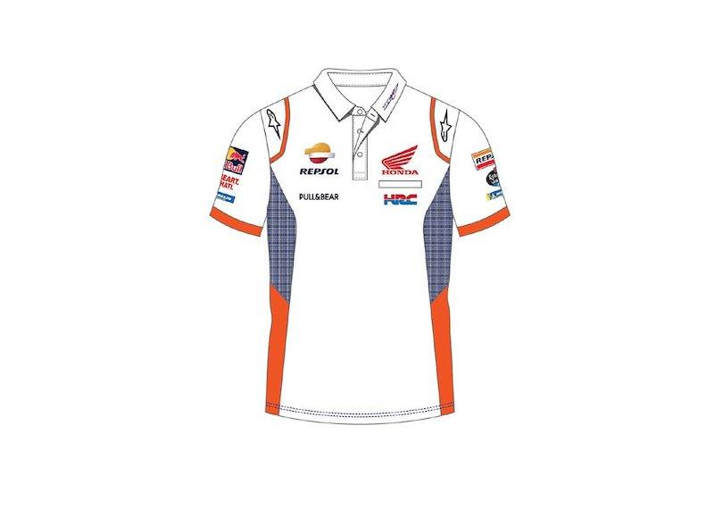 Bianco Polo Repsol Team - White