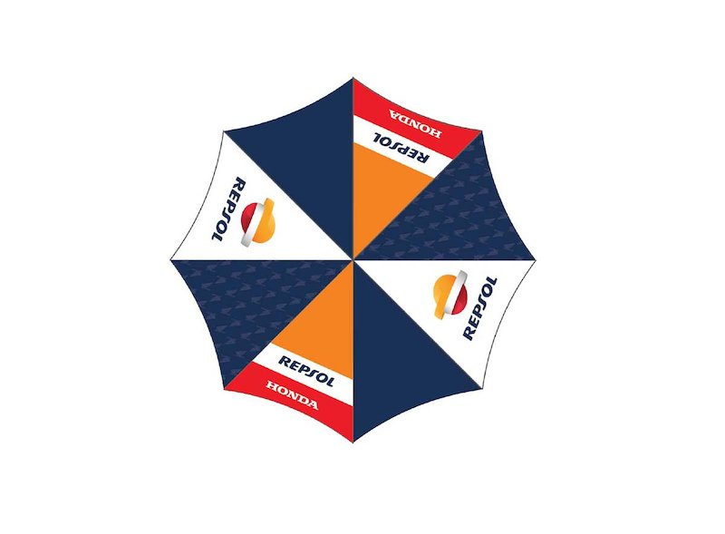 Repsol Multicolour Umbrella