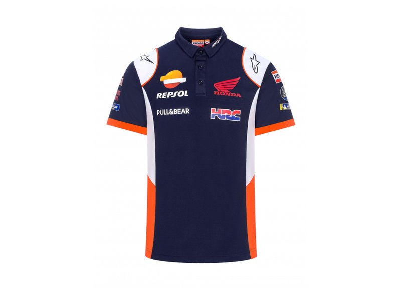 Polo shirt Repsol Honda Replica 2021 - Blue