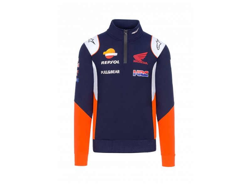 Sweatshirt Repsol Honda Team Replica 2020 - Blue
